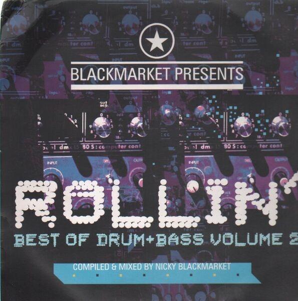 #<Artist:0x00007fd9011676c8> - Blackmarket Presents Rollin' Best Of Drum And Bass Vol. 2