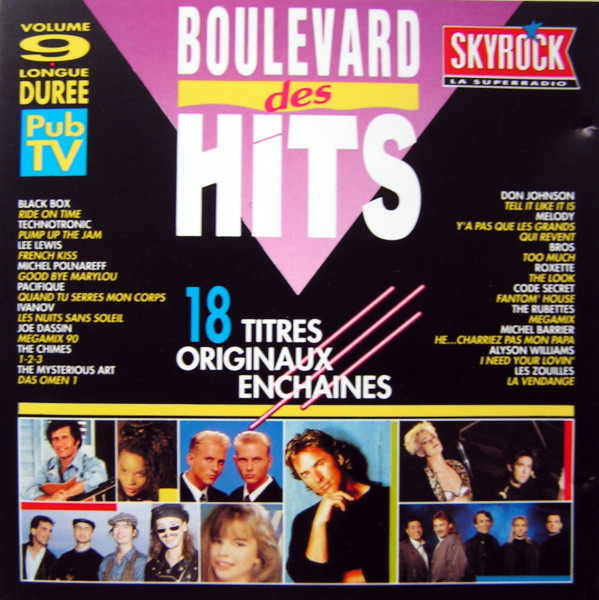 #<Artist:0x00007f4e0e2117f0> - Boulevard Des Hits Volume 9