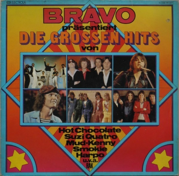 Hot Chocolate, Suzi Quatro, Mud,.. Bravo präsentiert die grossen hits