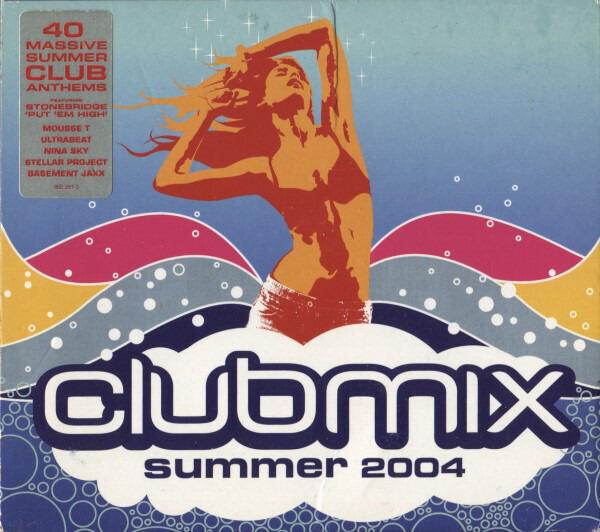 BRITNEY SPEARS / SCISSOR SISTERS / RACHEL STEVENS - Clubmix Summer 2004 - CD x 2