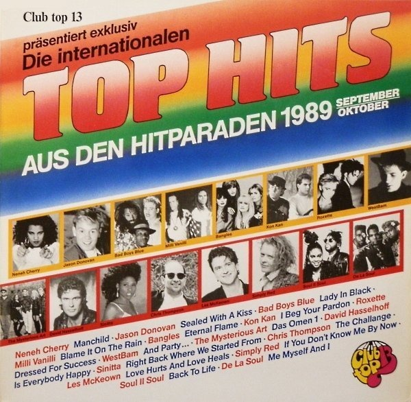 #<Artist:0x007f685ab72e78> - Die Internationalen Top Hits Aus Den Hitparaden 1989 - September/Oktober