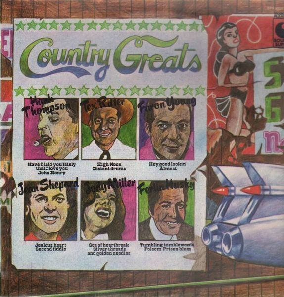 #<Artist:0x007f955e3a2960> - Country Greats
