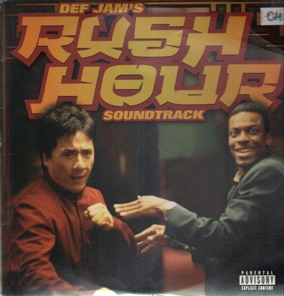 DRU HILL, WU-TANG CLAN, JA RULE A.O. - Def Jam's Rush Hour Soundtrack - 33T x 2