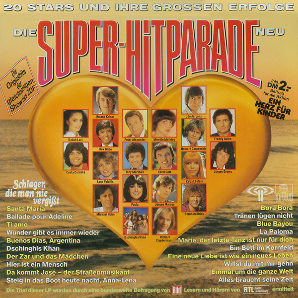 #<Artist:0x00007fcea6cc7988> - Die Super-Hitparade '82