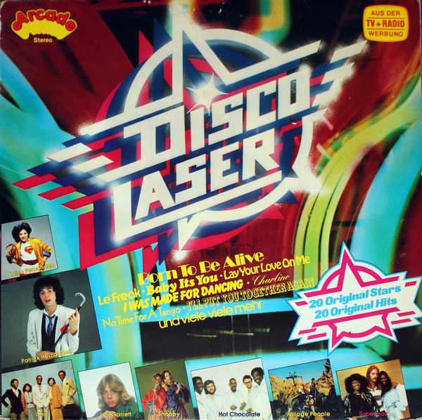 Hot Chocolate, Supermax, Village People a.o. Disco Laser