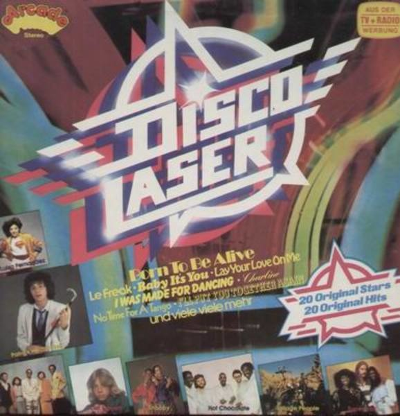 Supermax, Village People, Hot Chocolate a.o. Disco Laser