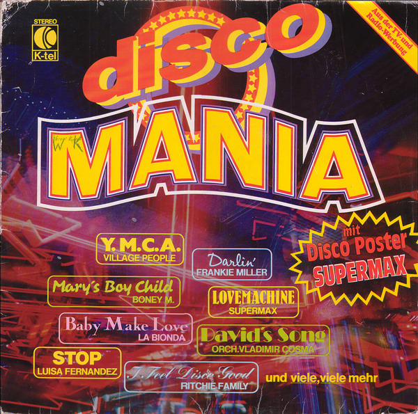 Village People, Boney M., La Bionda a.o. Disco Mania