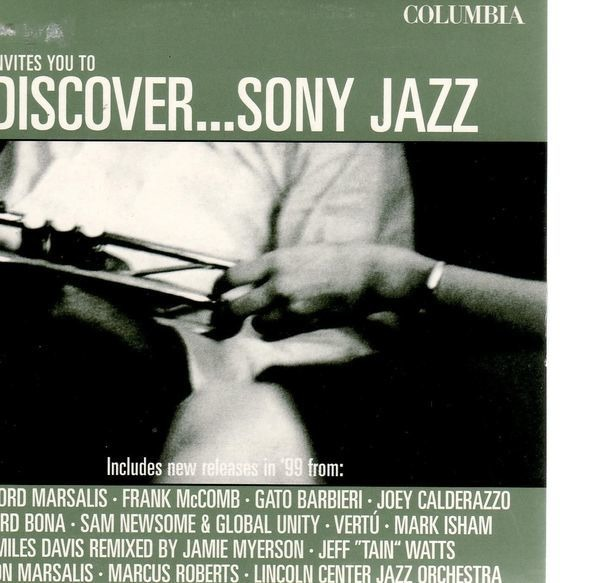 Various - Discover...sony Jazz