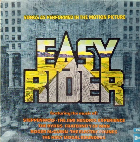steppenwolf, the byrds, the jimi hendrix experienc easy rider (single sleeve)