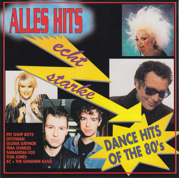 10 CC, THE PET SHOP BOYS, A.O. - Echt Starke - Dance Hits Of The 80's - CD