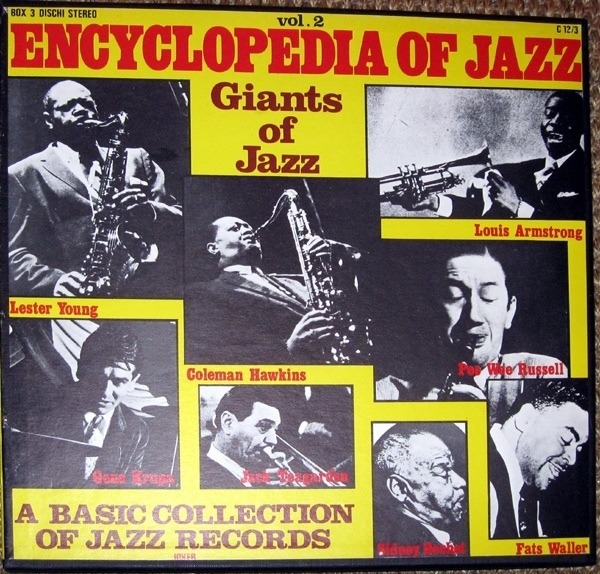 Louis Armstrong Weihnachtslieder.Encyclopedia Of Jazz Vol 2 By Louis Armstrong Gene Krupa A O Lp