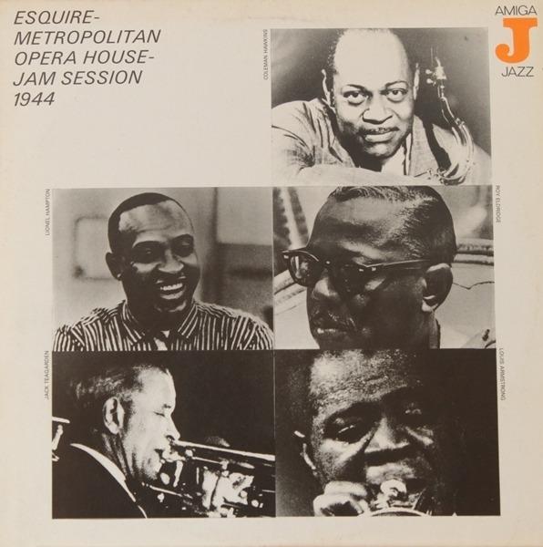 #<Artist:0x00007f651eeaaa58> - Esquire-Metropolitan Opera House Jam Session 1944