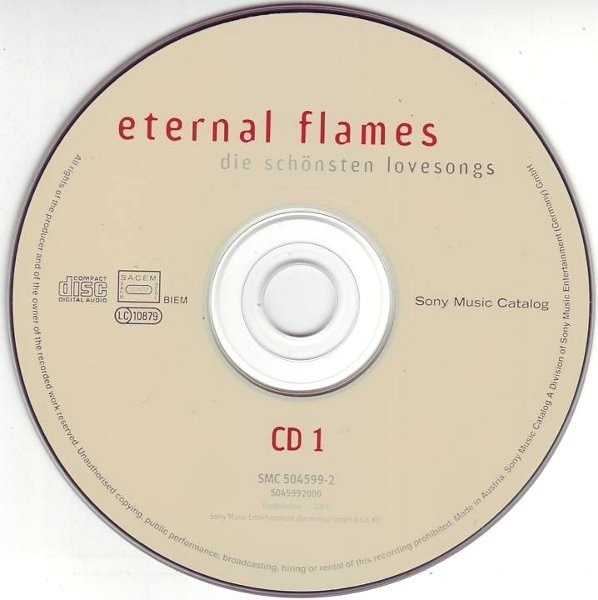 Bangles,Take That,Marvin Gaye,Bonnie Tyler, u.a Eternal Flames
