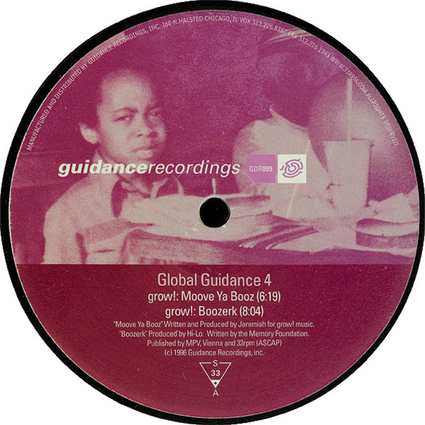 GROW!, PROJECT:PM, PROJAM - Global Guidance 4 - 12 inch x 1