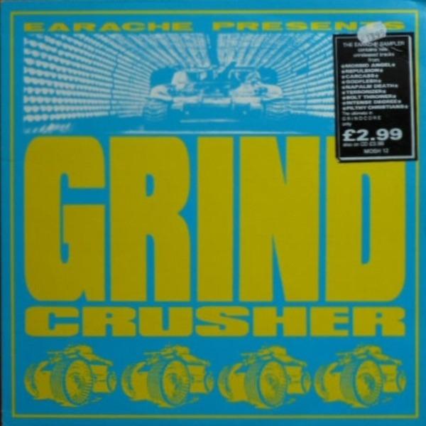 #<Artist:0x007f35b8de08b0> - Grindcrusher - The Earache Sampler