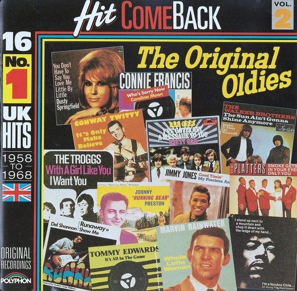 #<Artist:0x007f35bc4072e0> - Hit Come Back • The Original Oldies • Vol. 2 • 16 No. 1 UK Hits 1958 To 1968 • Original Recordings