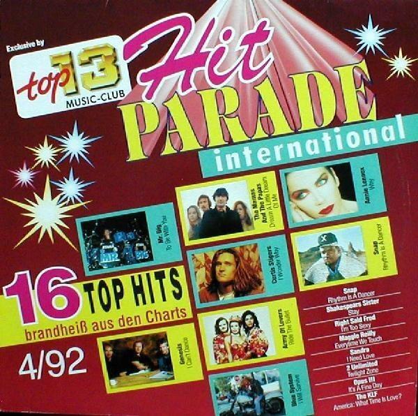#<Artist:0x007f5c90de64f0> - Hit PARADE International 4/92