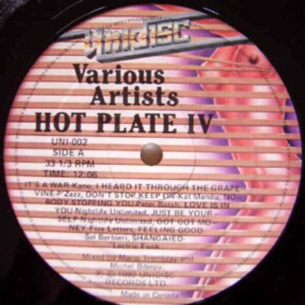 #<Artist:0x00007fd8e158ab08> - Hot Plate IV