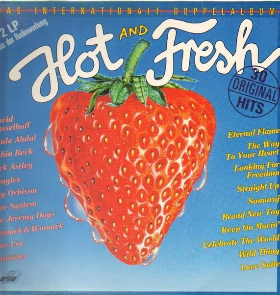 #<Artist:0x00007fd9071992f8> - Hot And Fresh - Das Internationale Doppelalbum