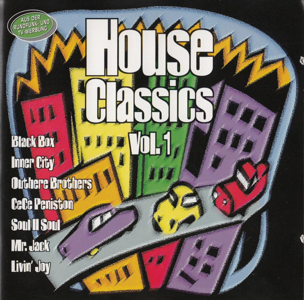 BLACK BOX, INNER CITY, JOE SMOOTH A.O. - House Classics Vol. 1 - CD