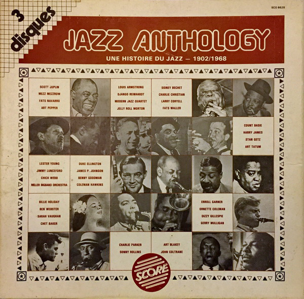 #<Artist:0x00007f8105524828> - Jazz Anthology