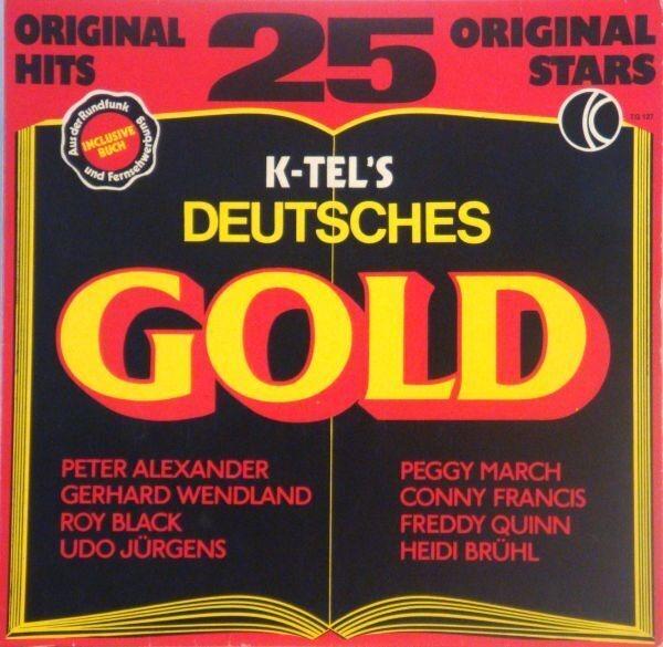 #<Artist:0x007f3393c14c88> - K-Tel's Deutsches Gold - 25 Original Hits
