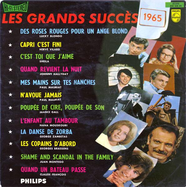 #<Artist:0x00007fcea52a0e60> - Les Grands Succés 1965