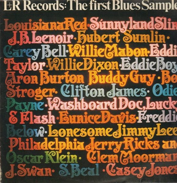 louisiana red, willie mabon, hubert sumlin a.o. l+r records: the first blues sampler