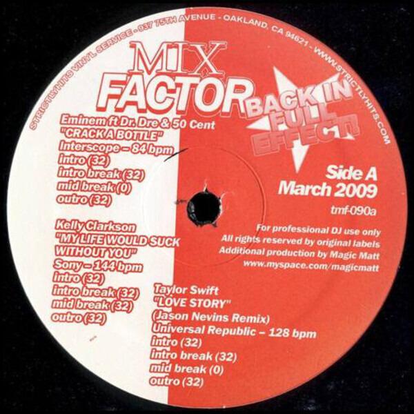 #<Artist:0x00007f8136096668> - Mix Factor Volume 90
