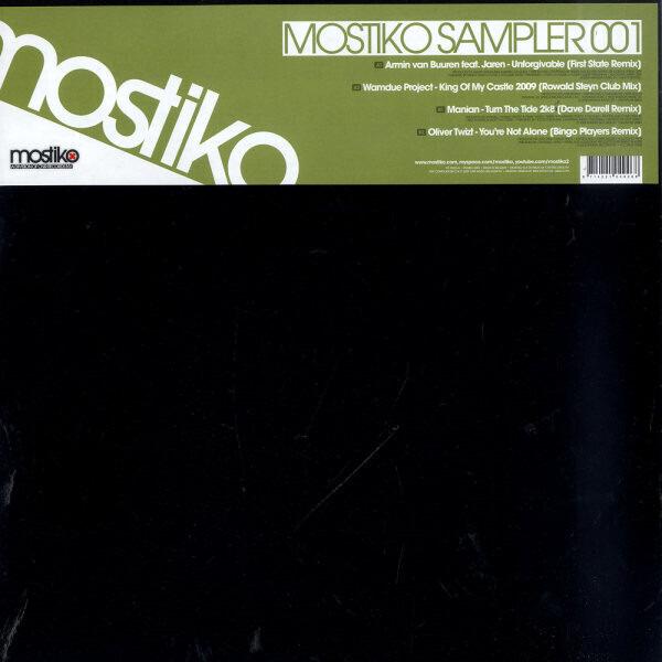 WANDUE PROJECT, MANIAN, OLIVER TWIST, U.A. - Mostiko Sampler 001 - Maxi x 1