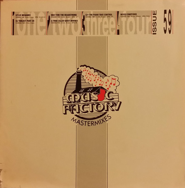 KYLIE MINOGUE, TWO LITTLE BOYS A.O. - Music Factory Mastermix - Issue 59 (GATEFOLD) - Maxi x 2