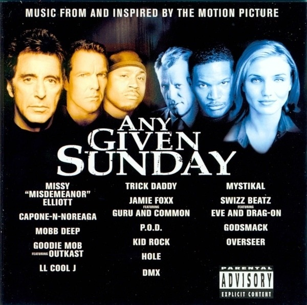 music from the motion picture any given sunday by capone n noreaga