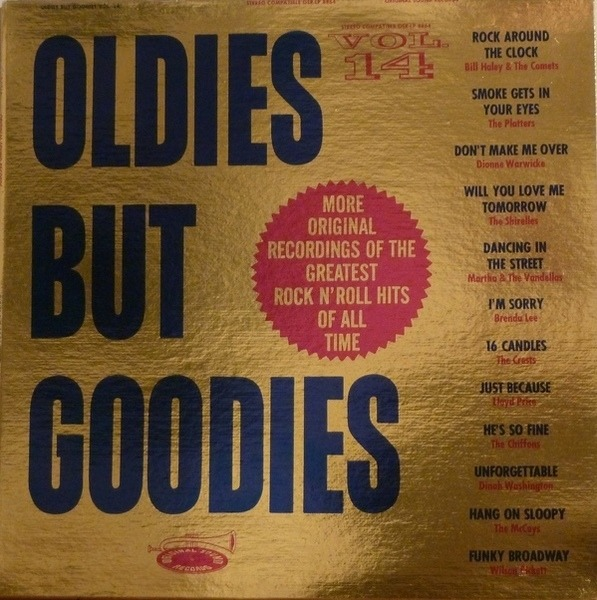 #<Artist:0x007ffa0bd176c8> - Oldies But Goodies Vol.14