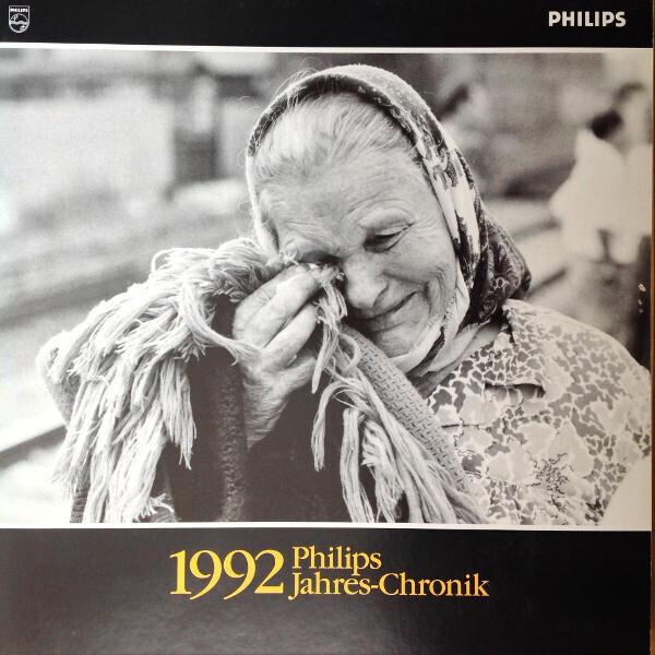 PHILIPS ZENTRALBEREICH ÖFFENTLICHKEITSARBEIT - Philips Jahres-Chronik 1992 (LP SIZE BOOK + CD) - CD