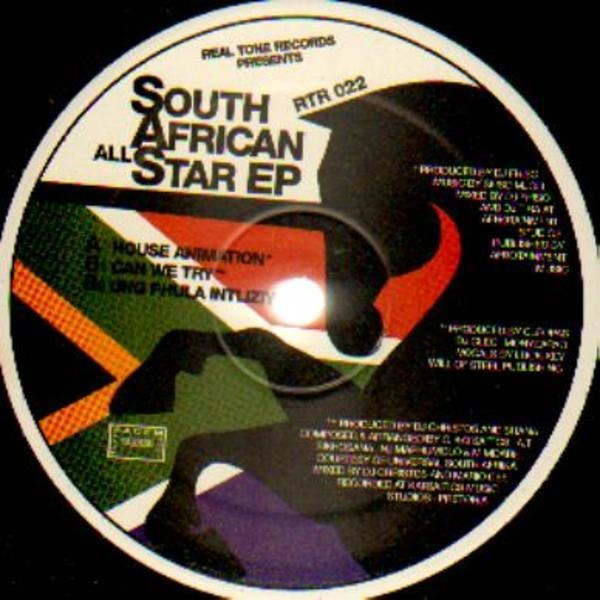 VARIOUS - South African All Star EP - 33T
