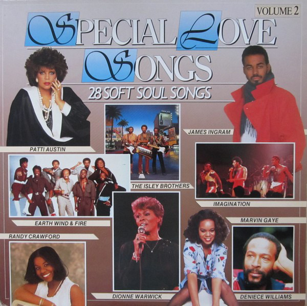 Marvin Gaye, The O'Jays a.o. Special Love Songs Volume 2 (GATEFOLD COVER)