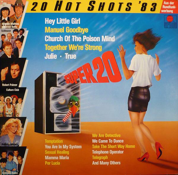 #<Artist:0x007fe33569ea68> - Super 20 - 20 Hot Shots '83