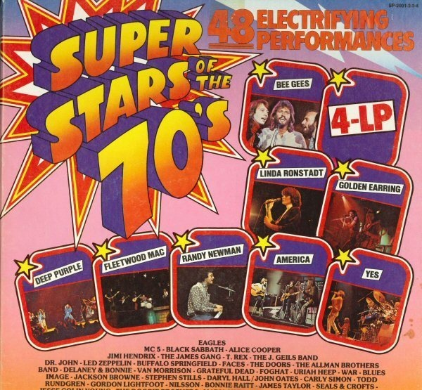 #<Artist:0x00000005a71480> - Super Stars Of The 70's