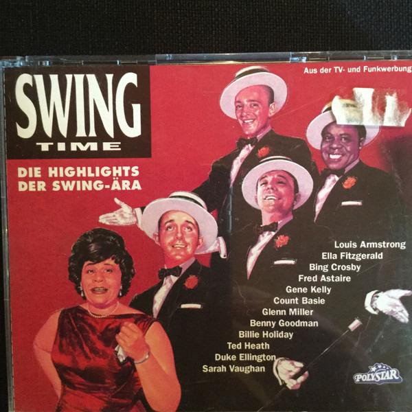#<Artist:0x00007f5f3e4e7790> - Swing Time (Die Highlights Der Swing-Ära)