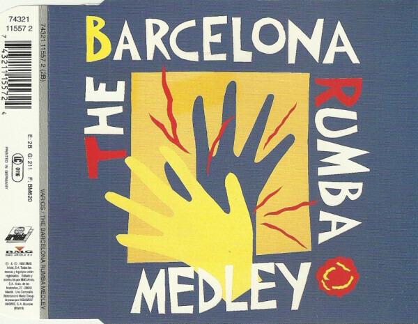LOS AMAYA / LOS MANOLOS / PERET - The Barcelona Rumba Medley - CD single