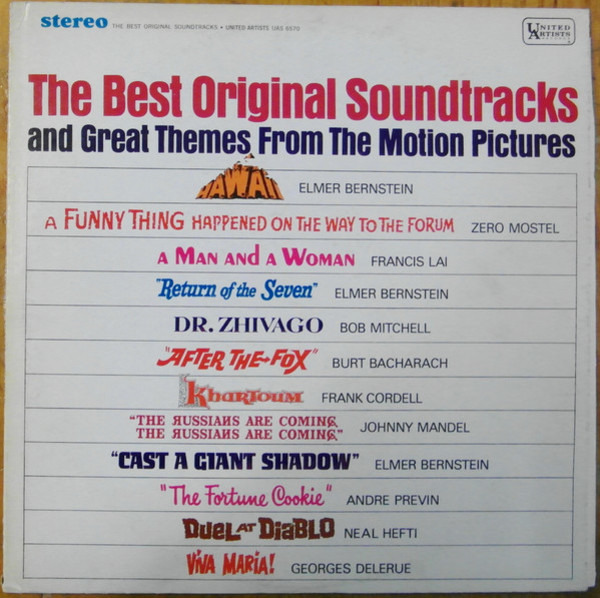 ELMER BERNSTEIN, ZERO MOSTEL - The Best Original Soundtracks And Great Themes From The Motion Pictures - LP