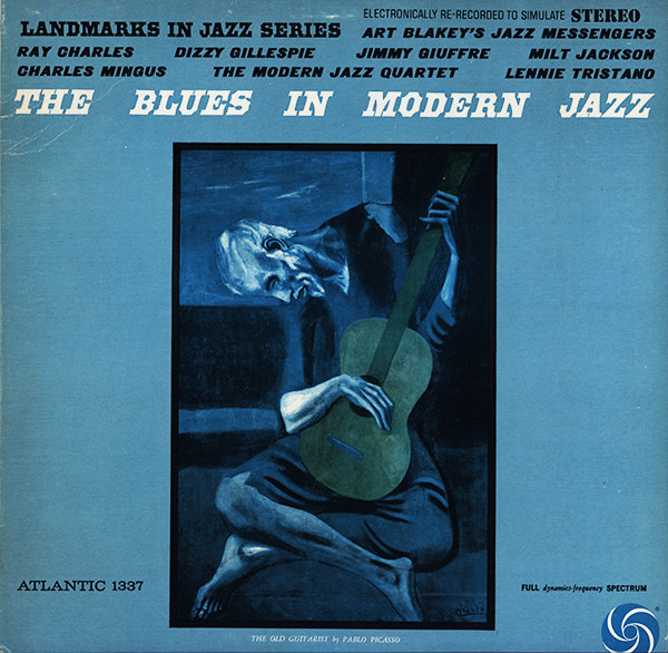RAY CHARLES / CHARLES MINGUS / MILT JACKSON / LENN - The Blues In Modern Jazz (SIMULATED STEREO) - LP