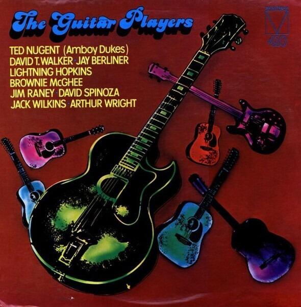 JAZZ ROCK COMPILATION - The Guitar Players - LP