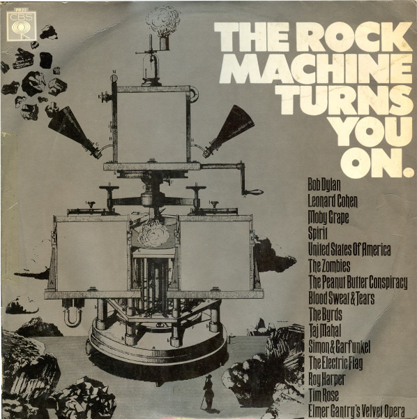 #<Artist:0x00007f8136e4f548> - The Rock Machine Turns You On
