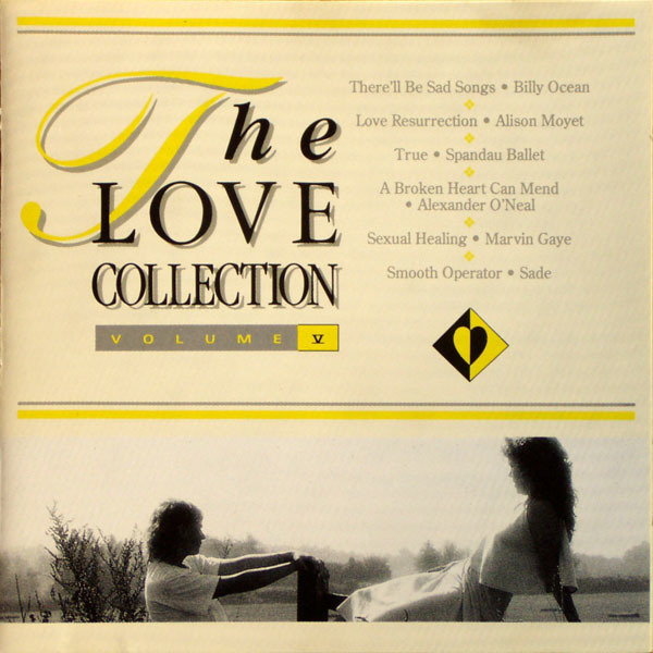 BILLY OCEAN, ALISON MOYET, SPANDAU BALLET A.O. - The Love Collection Volume Five - LP