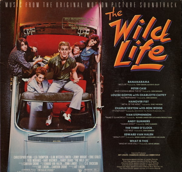 BANANARAMA, PETER CASE A.O. - The Wild Life OST - LP