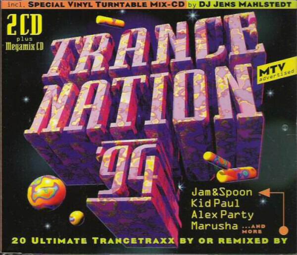 #<Artist:0x007f82161bf7e8> - Trance Nation '94
