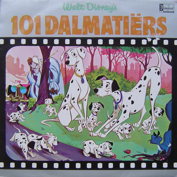 walt disney's 101 dalmatiërswalt disney, lp with recordsale