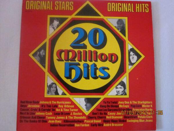 Joan Baez, Petula Clark a.o. 20 Million Hits