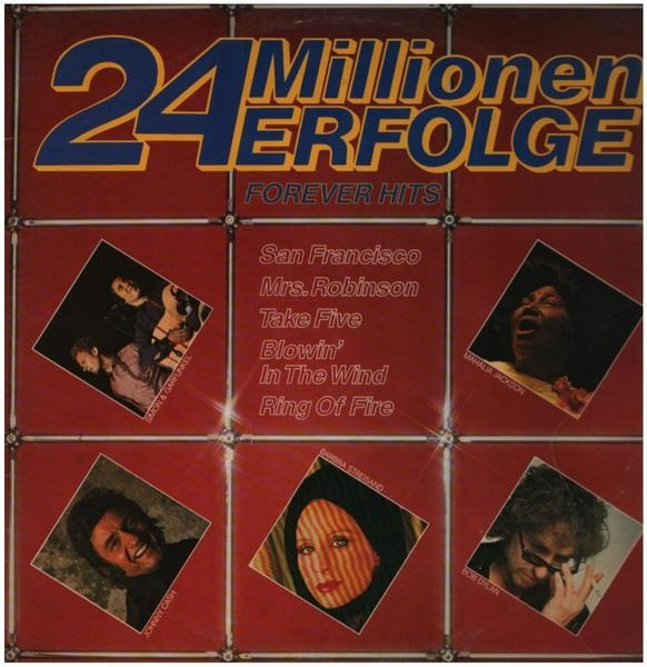 Simon & Garfunkel / Johnny Cash / Barbra Streisand 24 Millionen Erfolge (GATEFOLD)